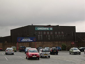 Drumchapel - The derelict shopping centre at Drumchapel