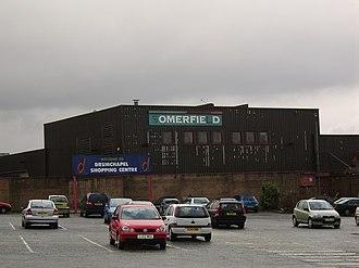 Drumchapel - The derelict shopping centre at Drumchapel