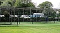 Dunmow Cricket Club cricket practice nets, Great Dunmow, Essex, England 01.jpg
