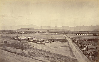 Second Anglo-Afghan War - Durban Maidan of Sherpur Cantonment in 1879.