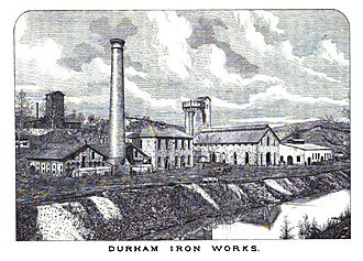 George Taylor (Pennsylvania politician) - Image: Durham Iron Works