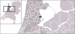 Location of Volendam