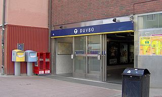 Duvbo urban district in Sundbyberg municipality, Sweden