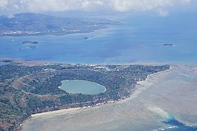 Вид на озеро с юго-востока 29 декабря 2001 года