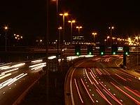 Fotograf�a desde el mismo sitio con una velocidad más lenta, dinamismo