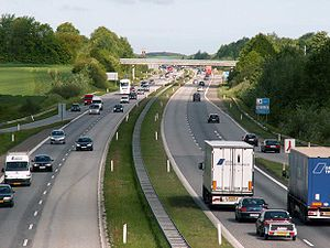 European route E20 - Image: E20 53