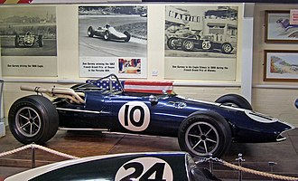All American Racers - An Eagle Mk1, in early, four-cylinder Climax-engined T1F form