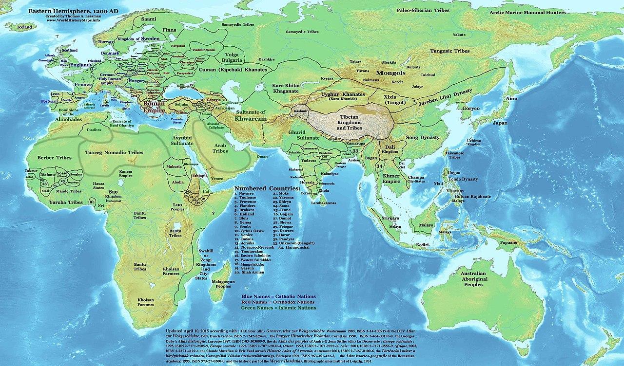 Historia de Asia  Wikiwand