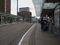 East Croydon tramstop look west.JPG