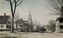 East Main Street in 1919