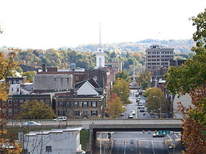 Easton, Pennsylvania - Image: Easton Skyline
