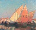 Edgar Payne Chioggia Boats.png