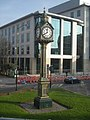 Edgbaston Five Ways clock - geograph.org.uk - 1218007.jpg