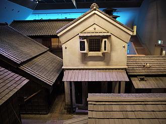 Chōnin - Image: Edo Fukagawa 1
