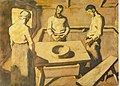 Egger-Lienz - Tischgebet (Variante der zweiten Fassung) 1923.jpg