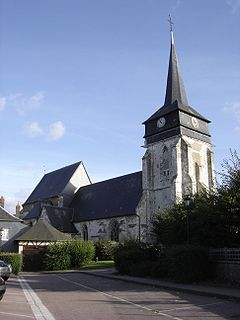 Bourgtheroulde-Infreville Part of Grand-Bourgtheroulde in Normandy, France