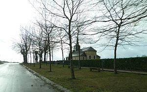 Arrien - Image: Eglise d'Arrien (Pyrénées Atlantiques) vue 2