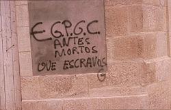 Resultado de imagen de Ejército Guerrillero del Pueblo Gallego Libre