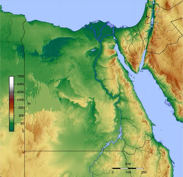 Ficheiro:Egypt map topo.png