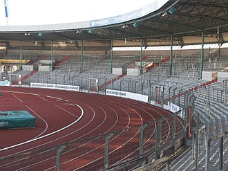 Eintracht-Stadion - Image: Eintracht Stadion Suedkurve
