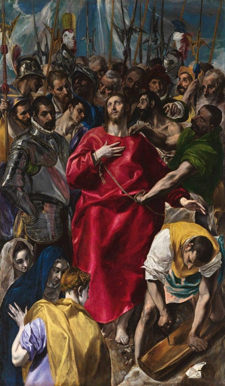 El Expolio, por El Greco