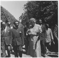 Eleanor Roosevelt and Haile Selassie at Hyde Park, New York - NARA - 195421.tif