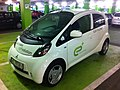 Electric automobile recharging at a Warsaw shopping center garage-3.jpg