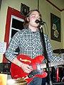 Electric guitar The Brooms MACRoCk 2009 Harrisonburg VA April 2009.jpg