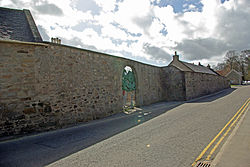 Elgin Cathedral Archdeacon's manse boundary wall.jpg