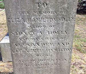 Eliza Hamilton Holly - Image: Eliza Hamilton Holly