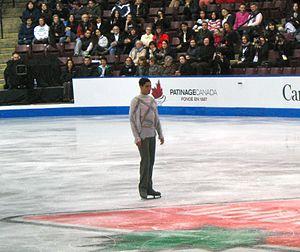 Emanuel Sandhu - Sandhu making his comeback at the 2013  Canadian Figure Skating Championships