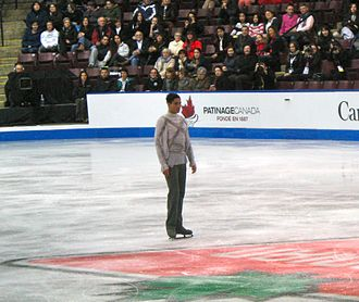 Emanuel Sandhu - Sandhu making his comeback at the 2013  Canadian Figure Skating Championships