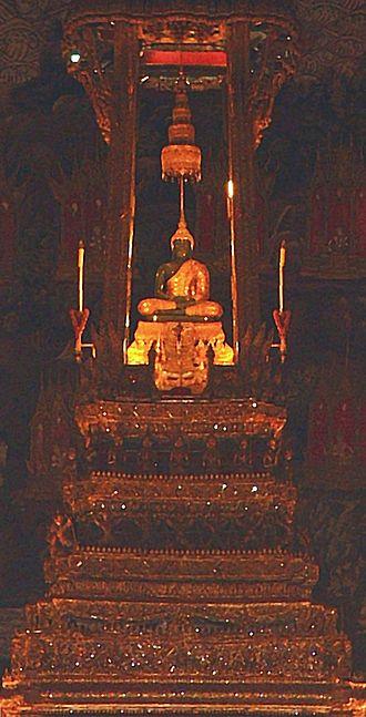 Emerald Buddha - Image: Emeraldbuddha retouched