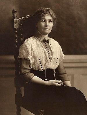 Emmeline Pankhurst - Emmeline Pankhurst, c. 1913