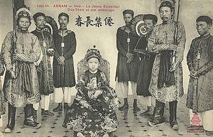 Duy Tân - Emperor Duy Tan in 1907.