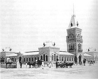 Empress Market - The market in 1890