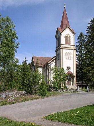 Enonkoski - Enonkoski Church (Magnus Schjerfbeck, 1886)