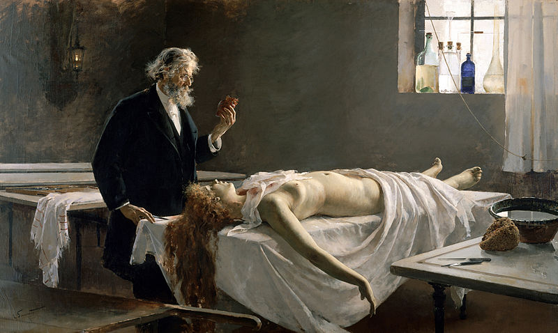Enrique Simonet - La autopsia
