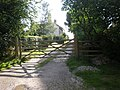 Entrance to Corner House Farm, Fimber - geograph.org.uk - 1430797.jpg