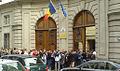 Entree ambasade roumanie referendum 2007.jpg