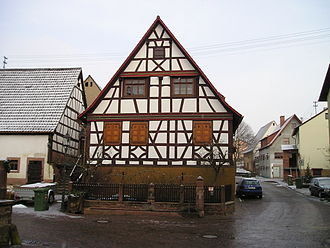 Epfenbach - Half-Timber House in Epfenbach