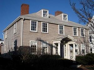 Ephraim Cutter House - Image: Ephraim Cutter House, Arlington MA IMG 2760