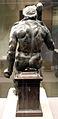 Ercole seduto (epitrapezios), 50 ac-50 dc ca., con braccia, clava e gambe sotto il ginocchio di restauro 03.JPG