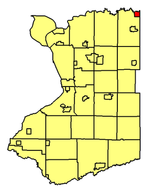 Tonawanda Reservation - Location of Erie County's portion of Tonawanda Reservation