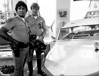 Larry Wilcox - Wilcox and Erik Estrada on CHiPS in 1977