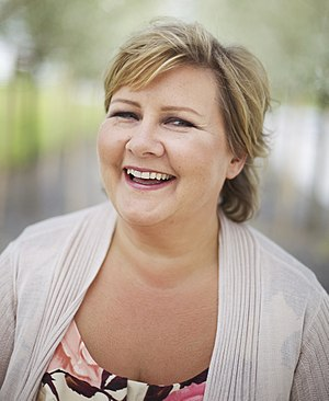 Council of State (Norway) - Image: Erna Solberg, Wesenberg, 2011 (1)