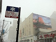 Escape Ironic Advertisement Chicago Feb 2 2011 storm
