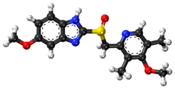 Esomeprazole ball-and-stick model.png