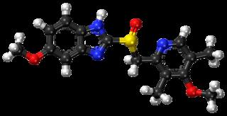 Esomeprazole Stomach acid suppressing medication