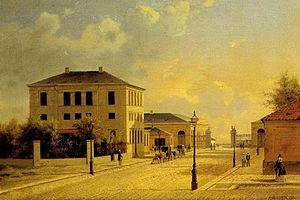 Esplanaden, Copenhagen - Toldbodvej in 1872